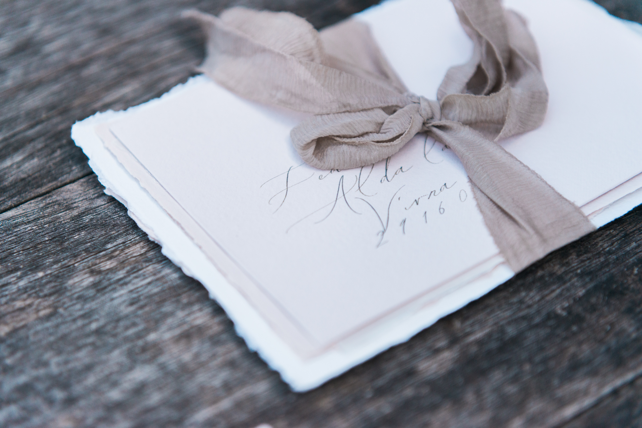 Stationery designed by Little North Sea Studio