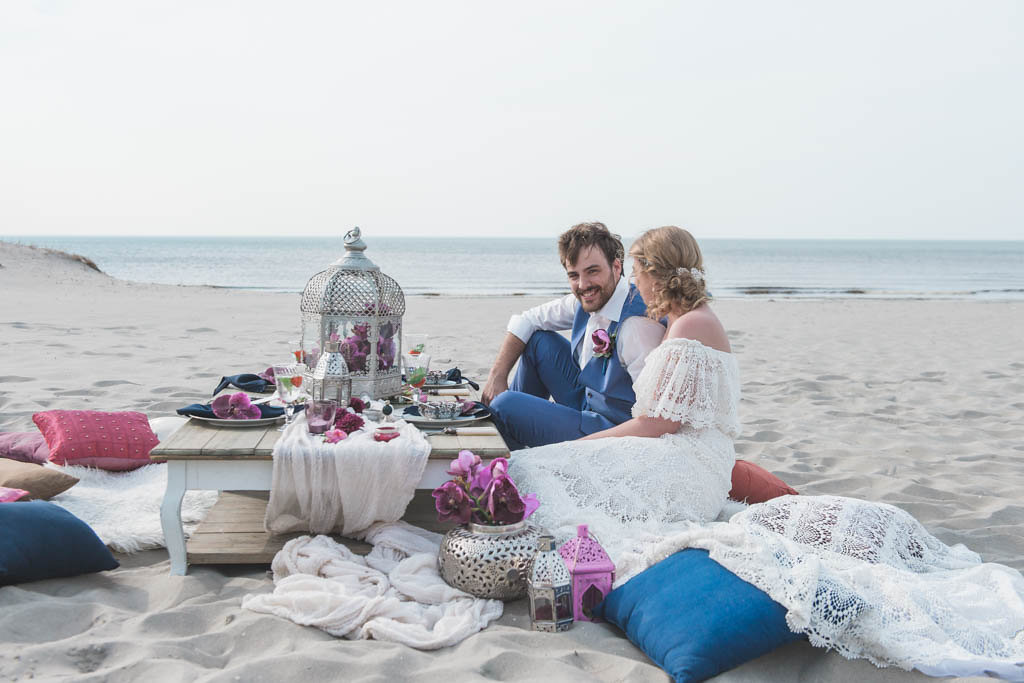Marrakech inspired picknick at the beach