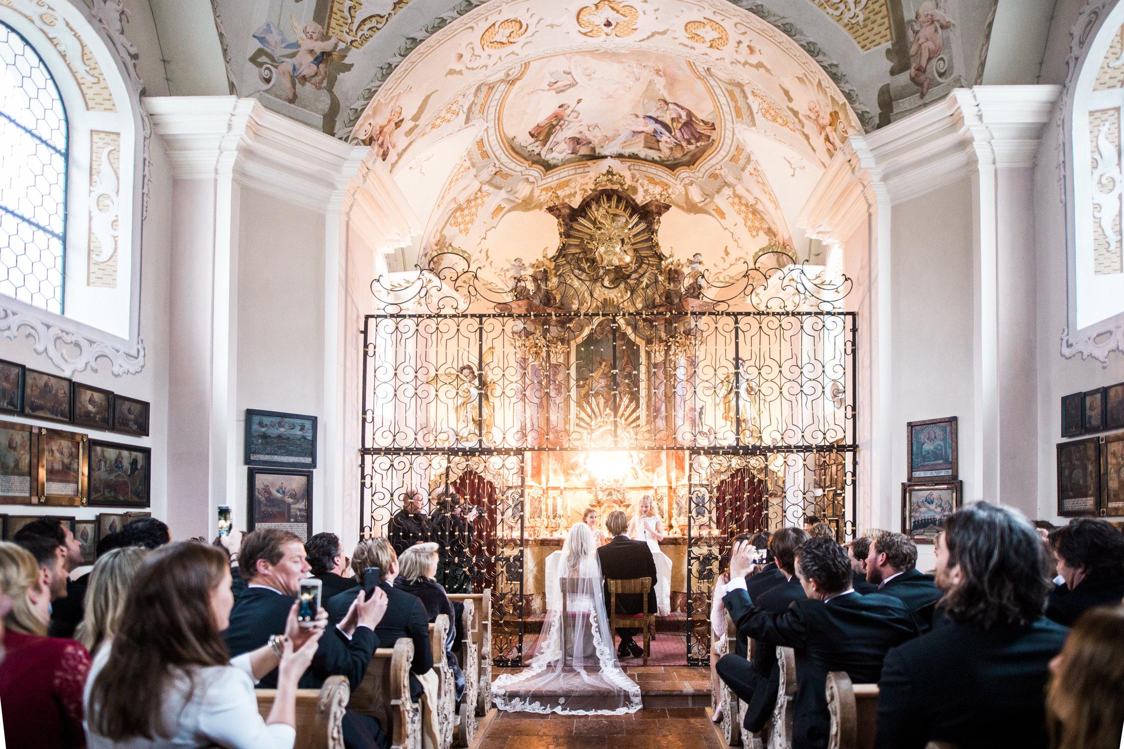 A church wedding in Tyrol in Austria captured by a wedding photographer working in Brixen im Thale, Kirchberg, Sankt Anton, Salzburg, Insbruck and Vienna