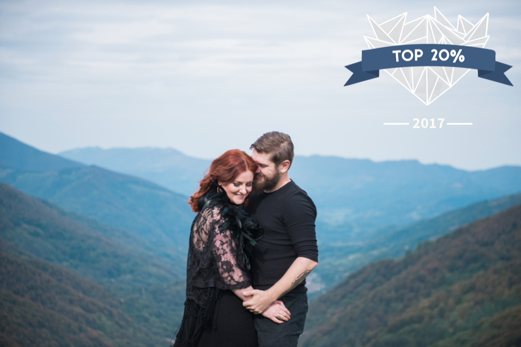 Award winning wedding photography in the Pyrenees in france