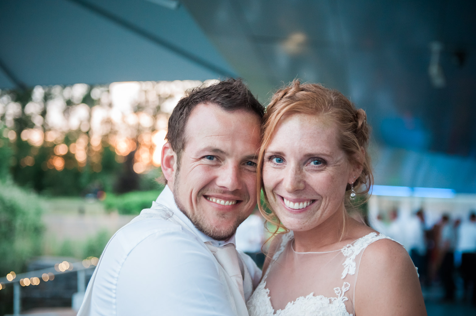 Wedding photography at restaurant Vork & Mes in Hoofddorp