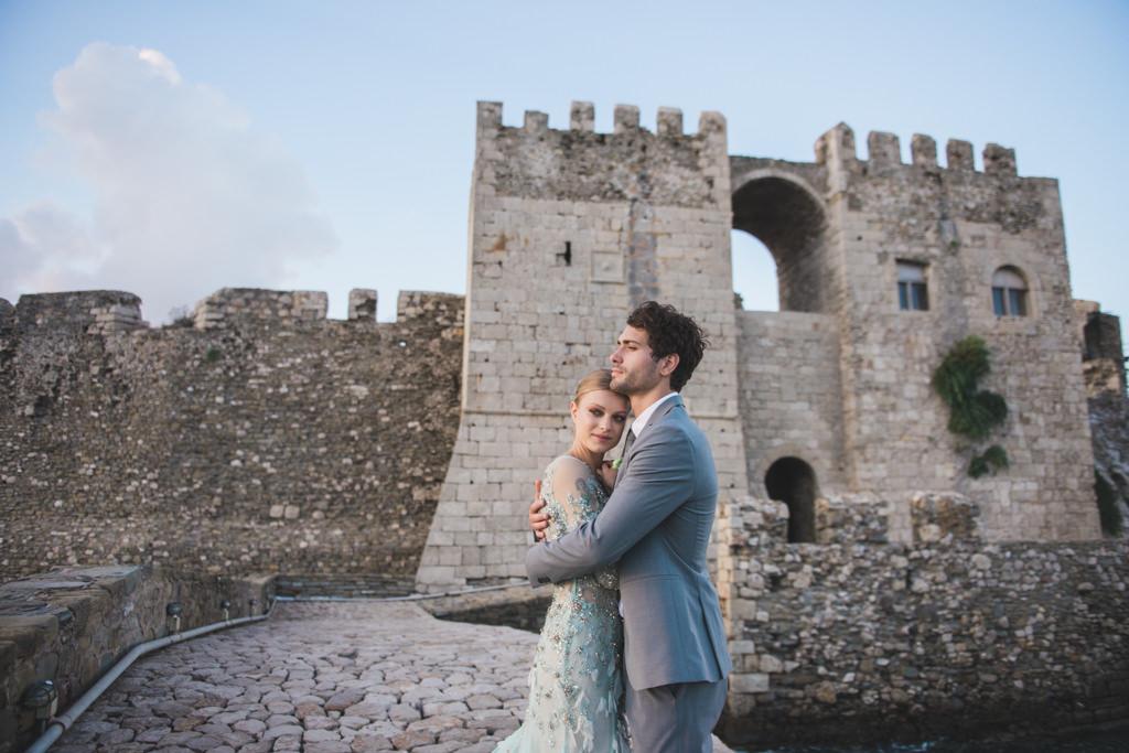 Destination wedding photographer captures a wedding in the Peloponnesos in Greece