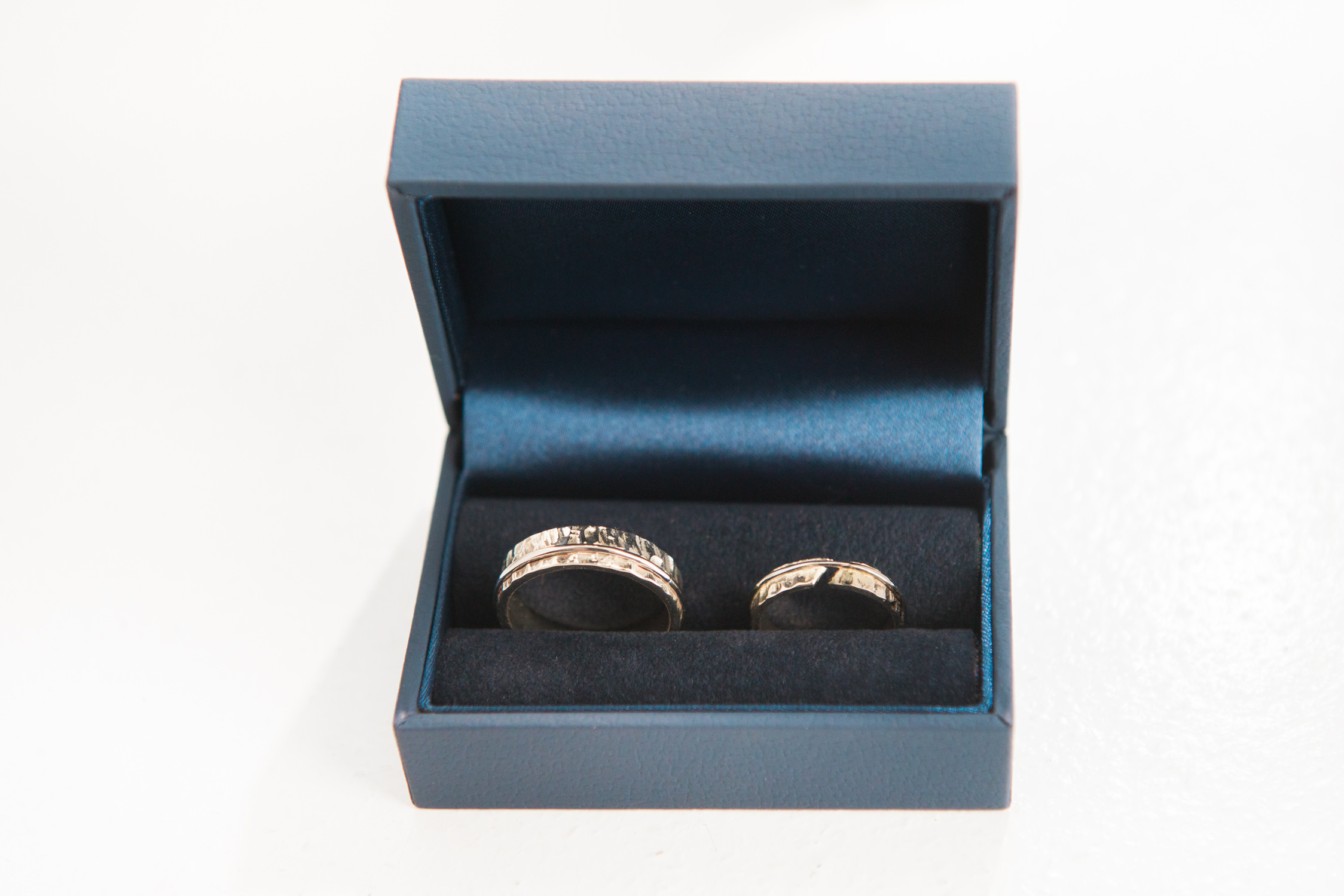 Wedding rings at Drumtochty Castle