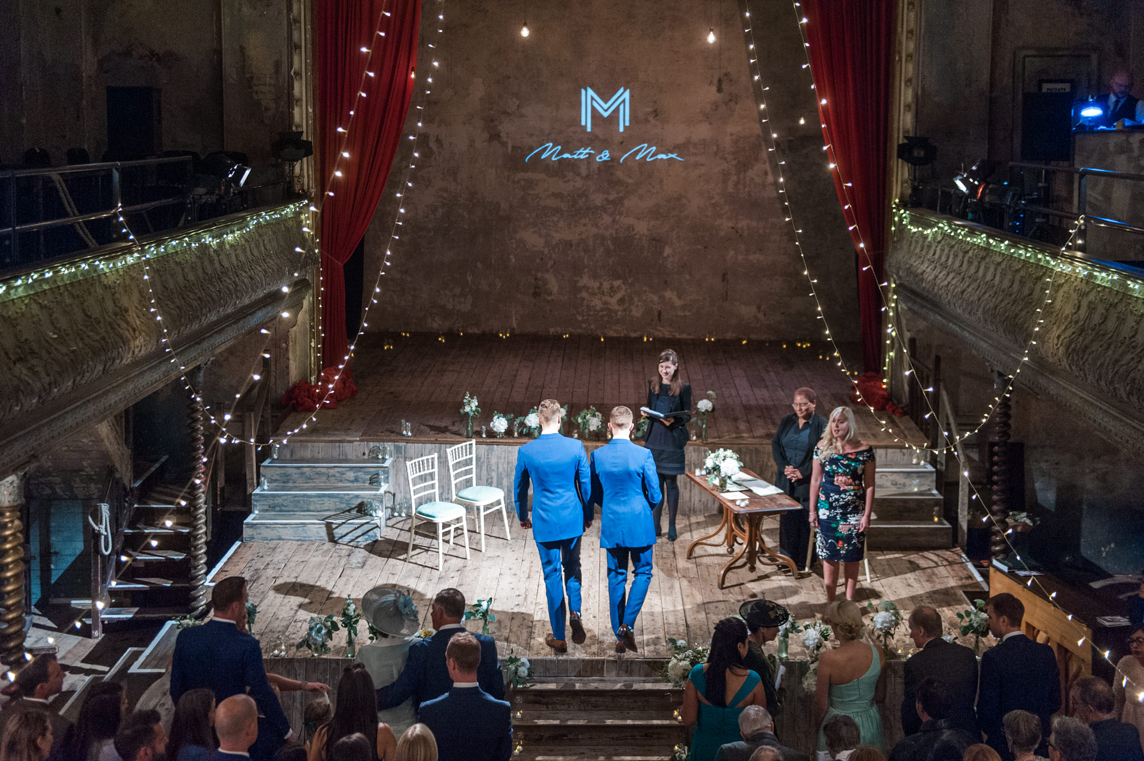 10 ideas for a theater themed wedding