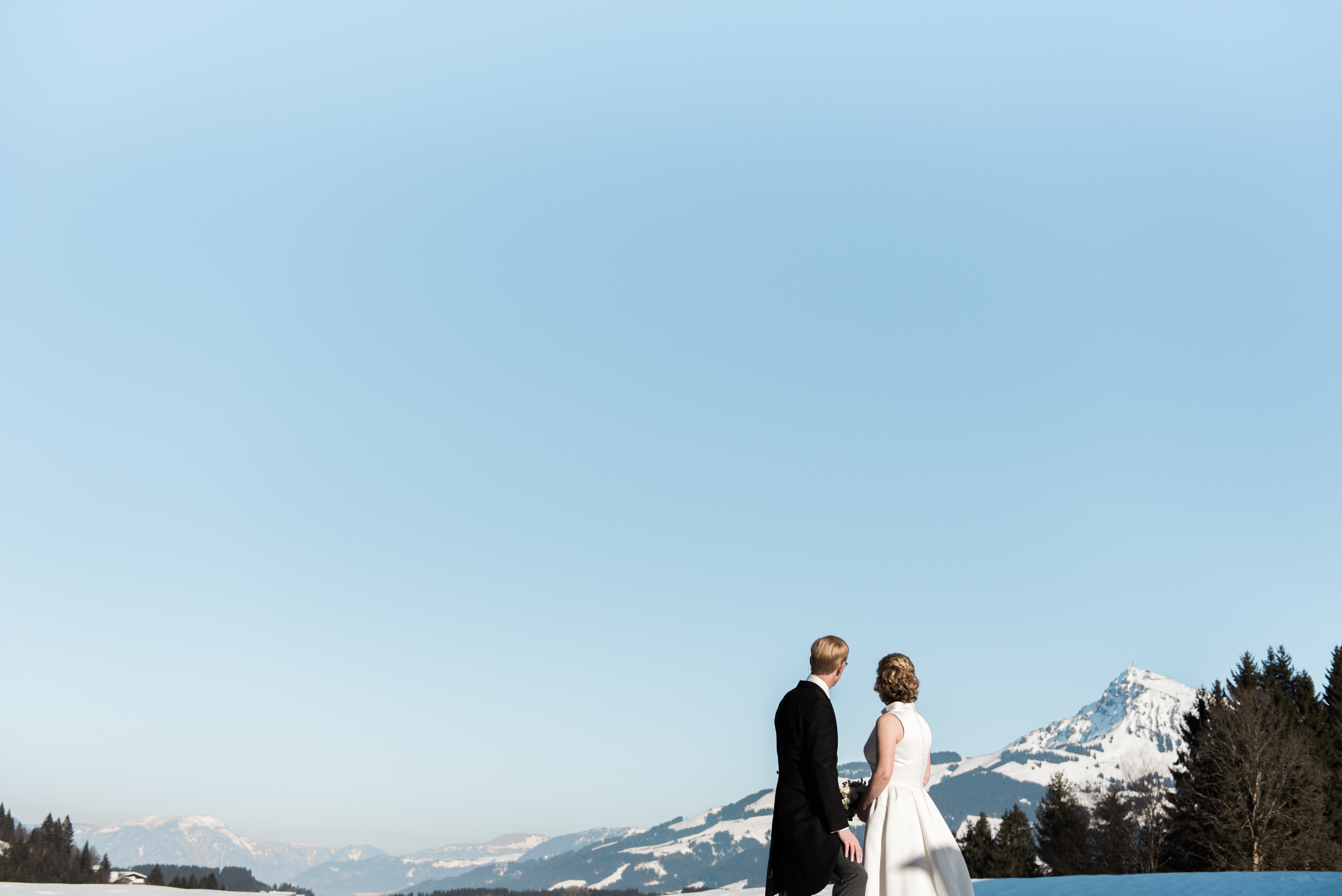 A wedding in tyrol, Austria photographed by a detsination wedding photographer