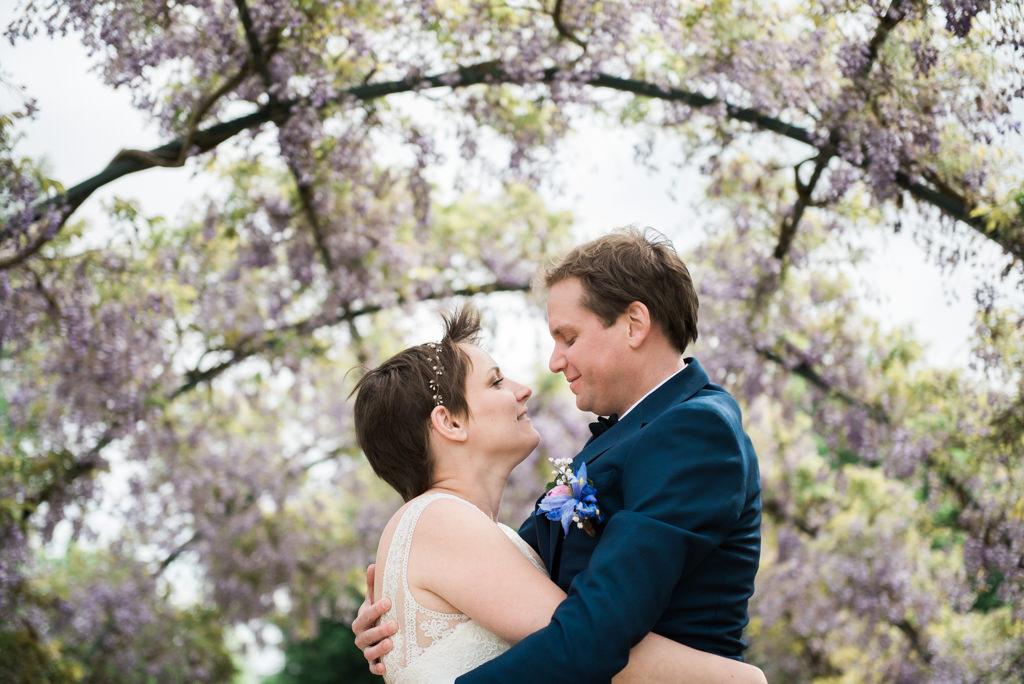 Utrecht wedding photography at the botanical gardens