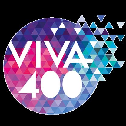 Het logo van de VIVA400