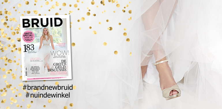 Nieuwe release van Bruid & Bruidegom Magazine