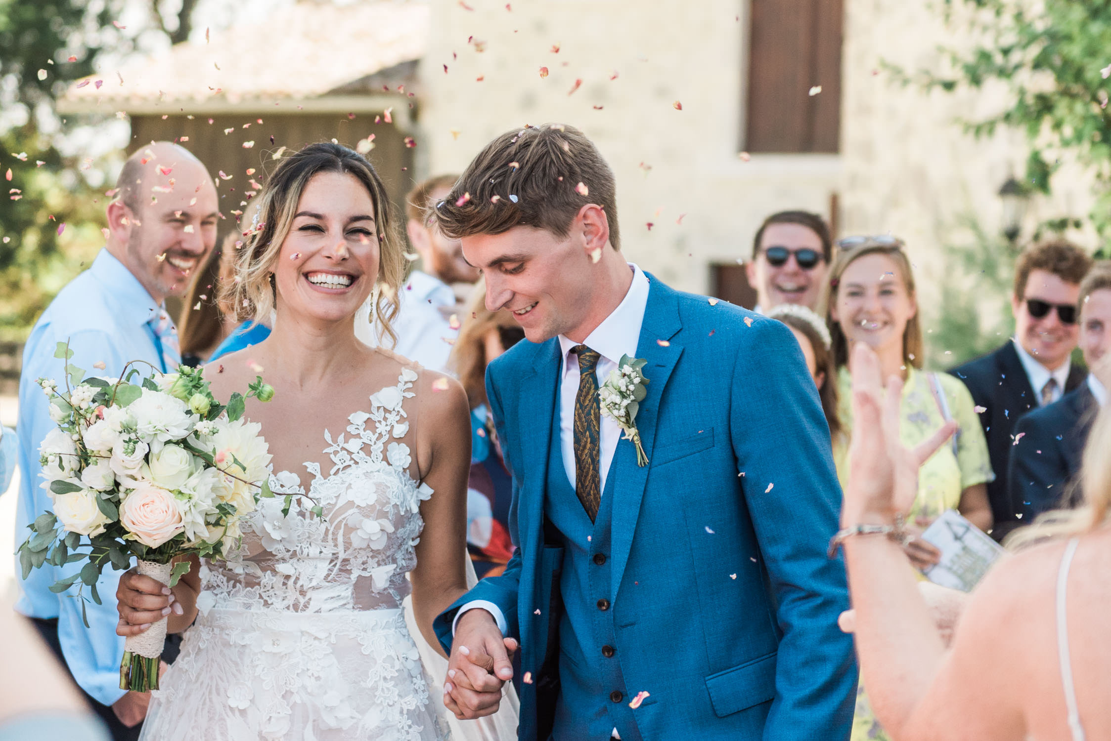 A couple captured by a France wedding photographer