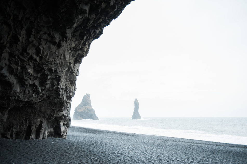 Black Sand Beach wedding photographer Iceland