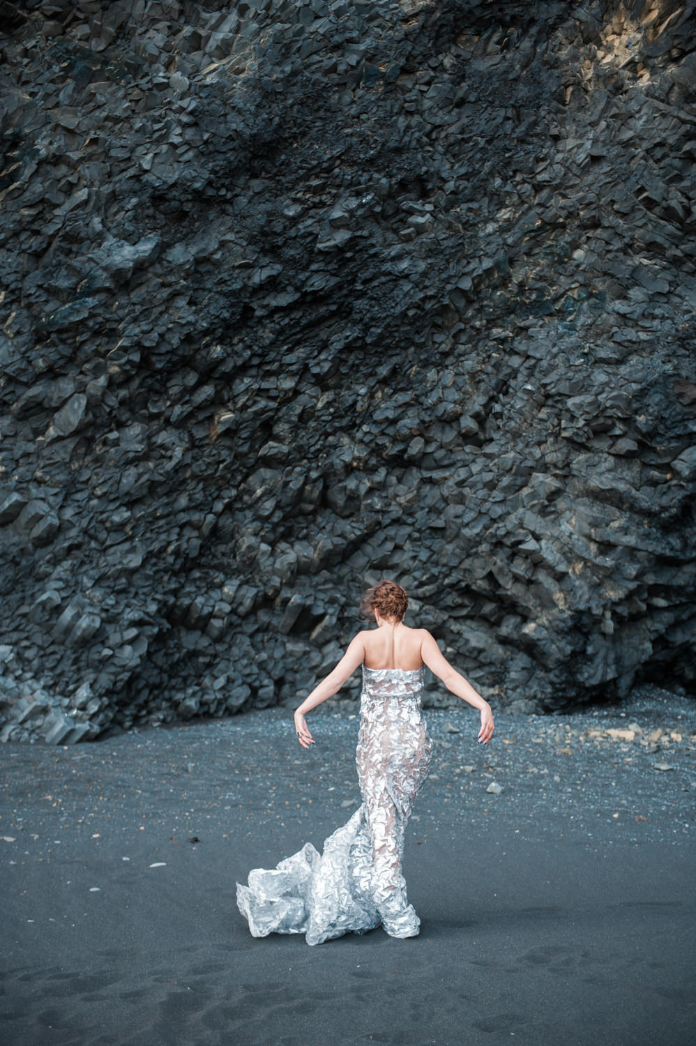 Black Sand Beach wedding photographer Vik