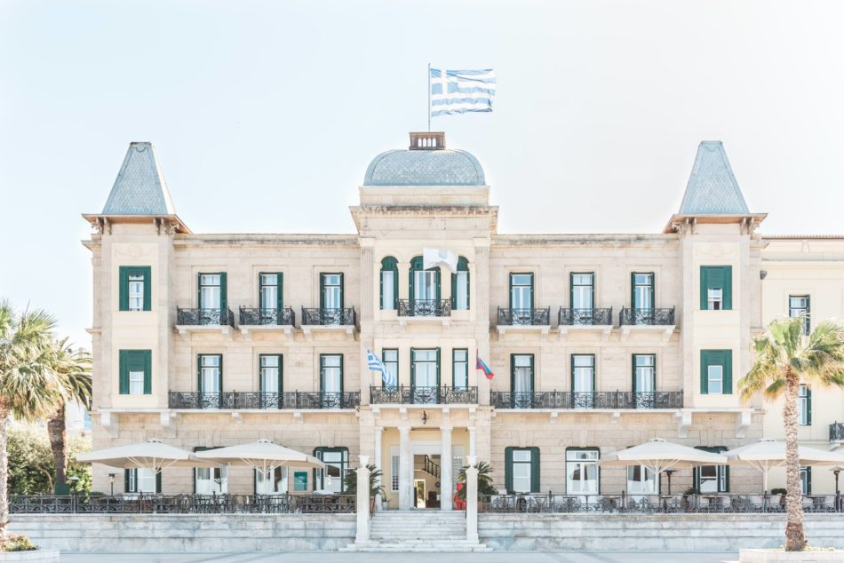5 gorgeous wedding venues in Greece including the Poseidonion Grand Hotel