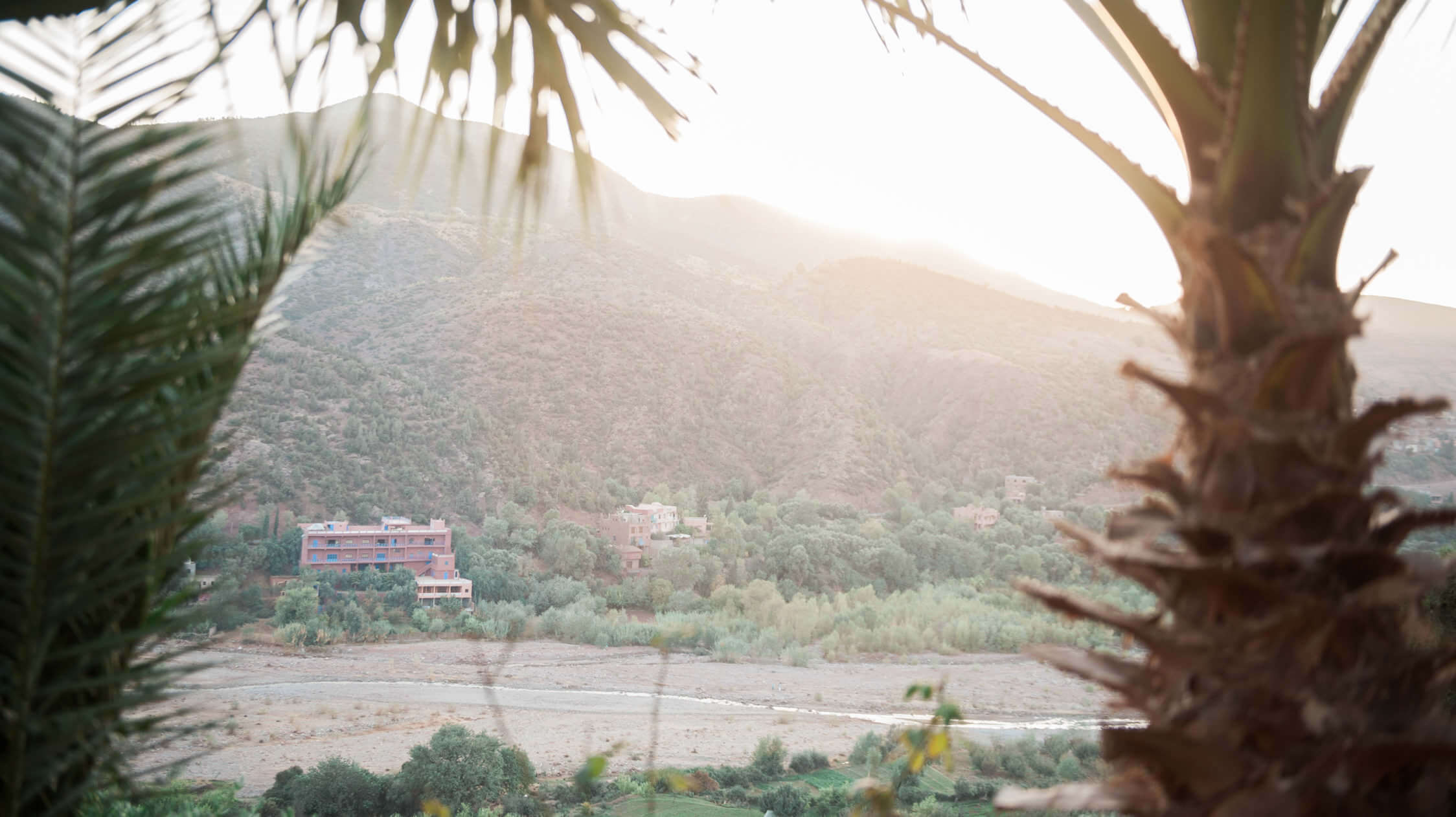 Sunset in Morocco, captured by an English wedding photographer