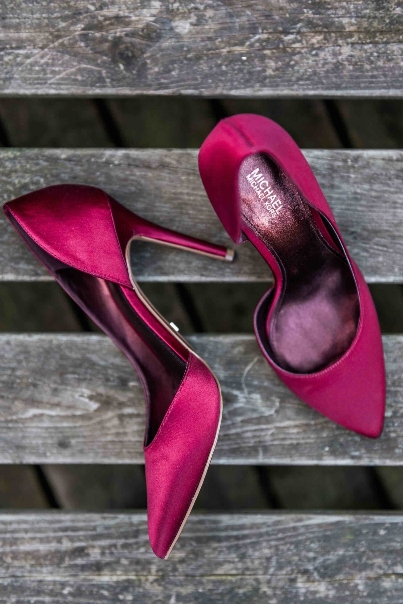 Michael Kors shoes for a wedding in Scheveningen