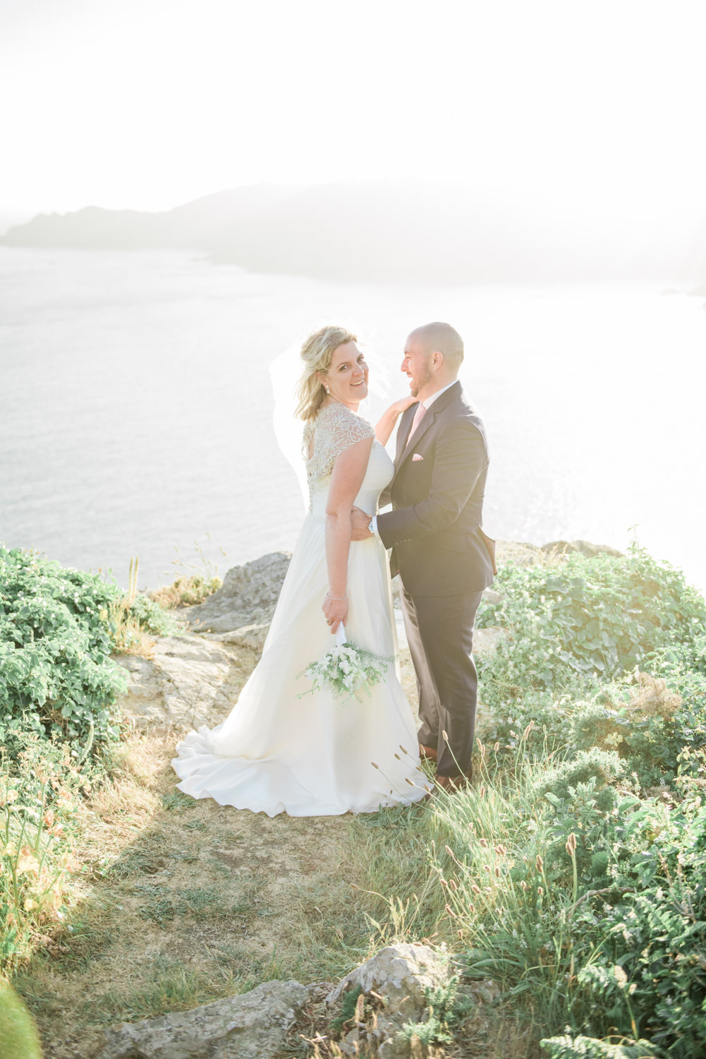 Destination wedding photographer at Guernsey