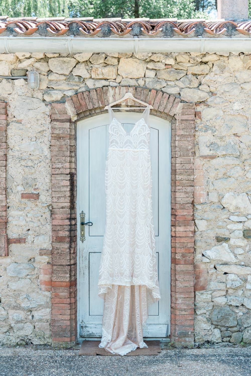 Wild at Heart Bridal wedding dress at a destination wedding in France