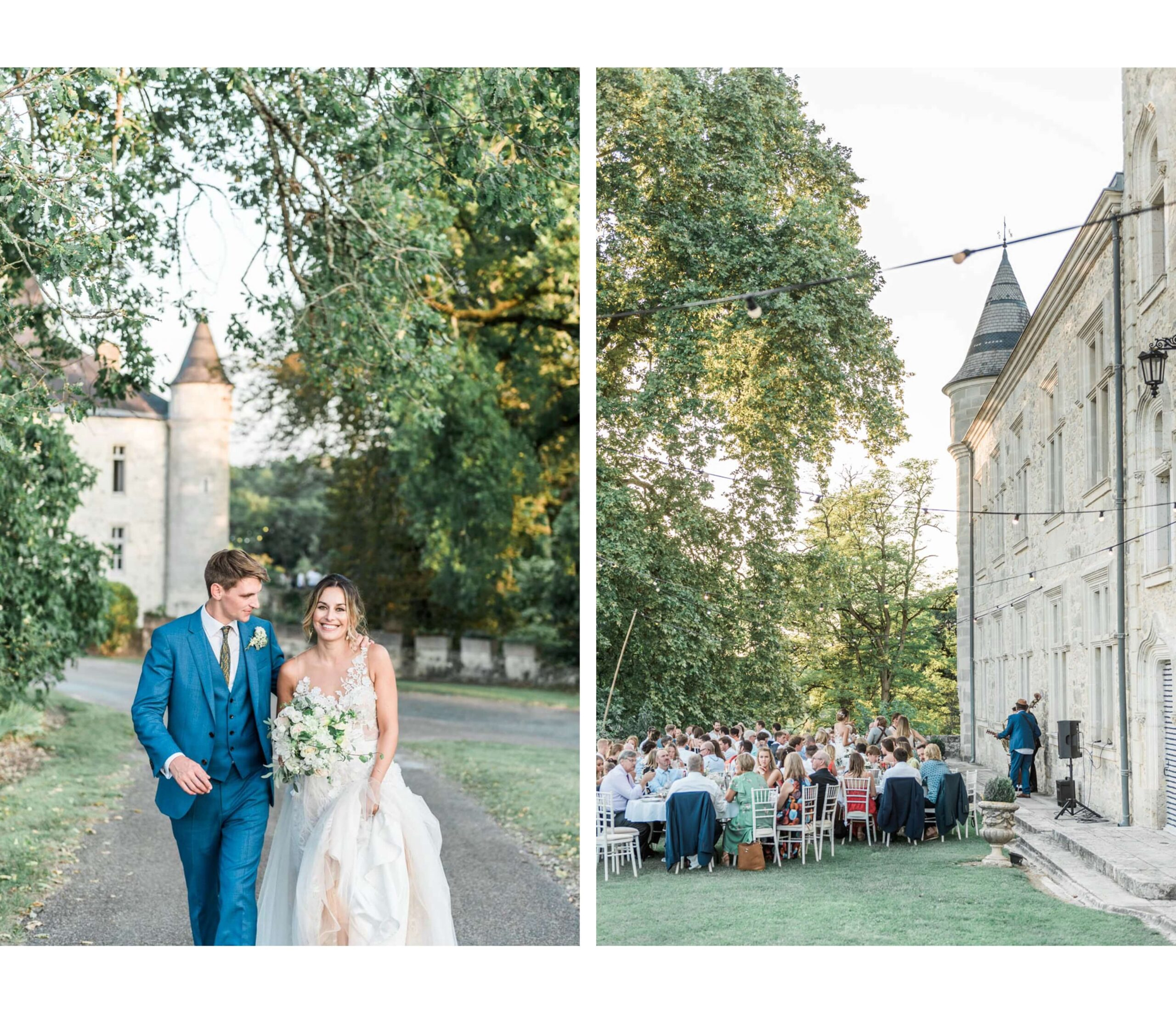 Chateau de Lisse light and airy castle venue in France