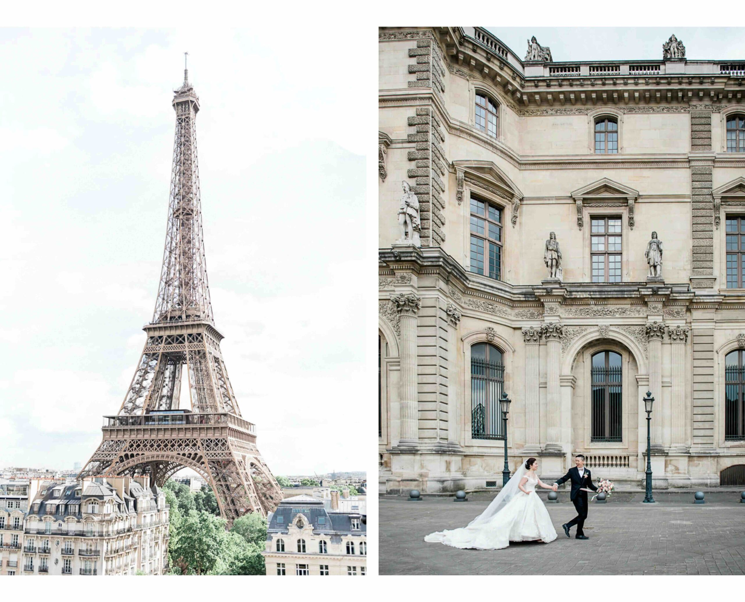 luxury venues for weddings and elopements in Paris, the French Riviera, the cote d'azur and other places in France
